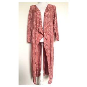 NWT LuLaRoe Pink Pleated Shirley Kimono